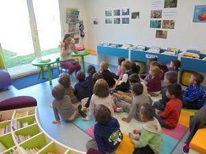 Accueil des élèves de l'école maternelle - 2018-2019 - Médiathèque Presles-en-Brie