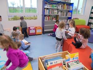 Accueil des élèves de l'école maternelle - 2019-2020 - Médiathèque Presles-en-Brie