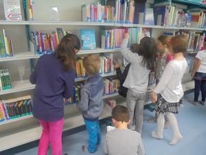 Accueil des élèves de l'école primaire - 2016-2017 - Médiathèque Presles-en-Brie