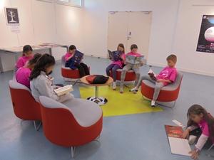 Accueil des élèves de l'école primaire - 2018-2019 - Médiathèque Presles-en-Brie