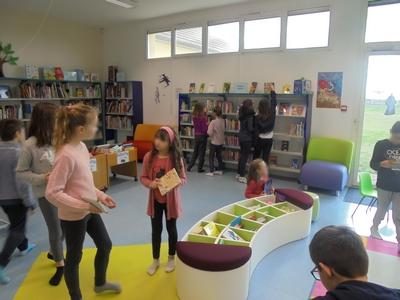 Accueil des élèves de l'école primaire - 2019-2020 - Médiathèque Presles-en-Brie