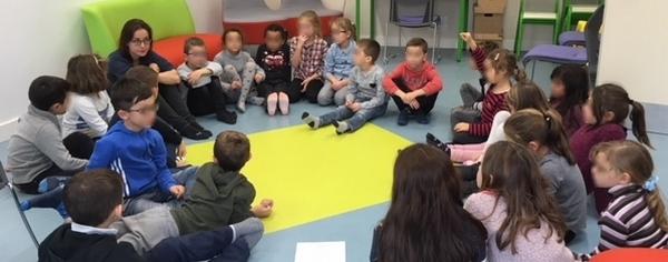Accueil des élèves de l'école primaire - 2017-2018 - Médiathèque Presles-en-Brie