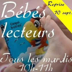 Bébés lecteurs - Médiathèque de Presles-en-Brie