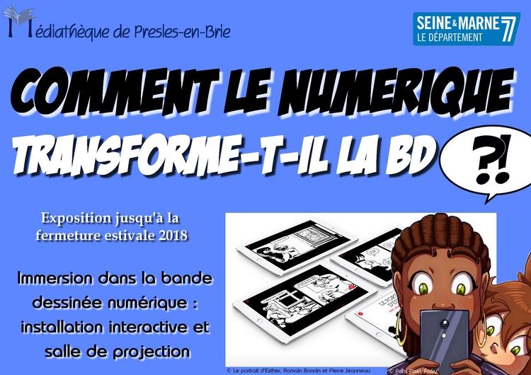 BD numérique - Médiathèque de Presles-en-Brie