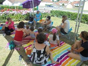 Médiathèque de Presles-en-Brie : Biblio-plage