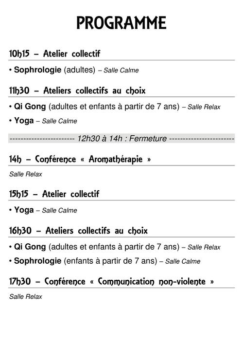 Samedi du Bien-être - Médiathèque de Presles-en-Brie