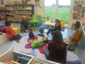 Atelier lecture pour les petits - RAM Val Briard - Médiathèque de Presles-en-Brie