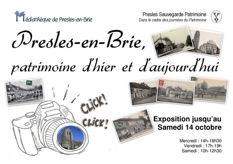 Exposition - Presles-en-Brie, patrimoine d'hier à aujourd'hui