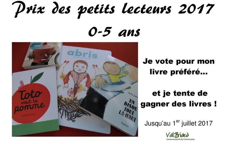 Prix des petits lecteurs - Val Briard