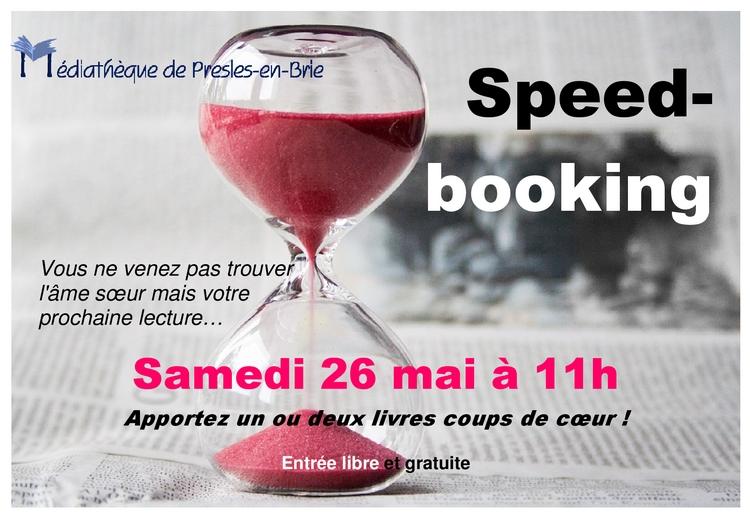 Speed-booking - Médiathèque de Presles-en-Brie