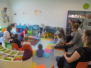 """Bébés lecteurs - Tapis narratif """"Loup y es-tu ?"""" - Médiathèque Presles-en-Brie"""