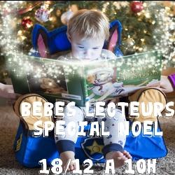 Bébés lecteurs Spécial Noël - Médiathèque de Presles-en-Brie